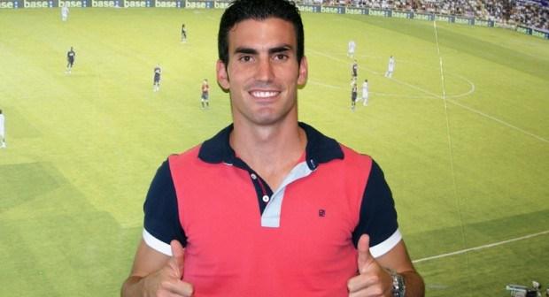 Alejandro Alfaro, nuevo jugador del Valladolid.