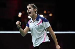 Carolina Marín, nueva campeóna del Mundo de bádminton.