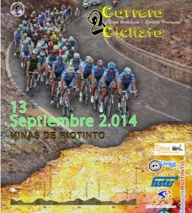 Cartel del Gran Premio de Bollullos del Condado de ciclismo.