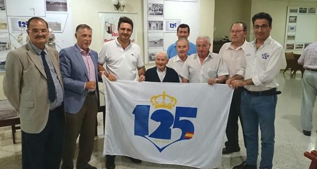 Exposición del 125 aniversario del Recreativo de Huelva en el Casino de Rociana.