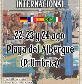 Open Internacional de futvoley playa en Punta Umbría.
