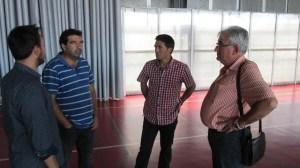 Escuela de iniciación al bádminton en San Juan del Puerto.