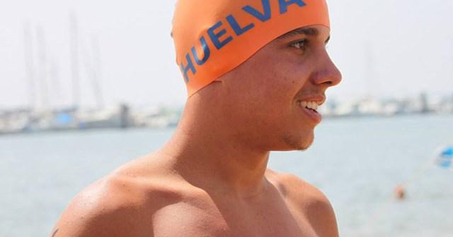 Pablo Vázquez, nadador de Aljaraque.