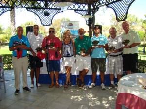 Torneo Pro-Shop de golf en Islantilla.