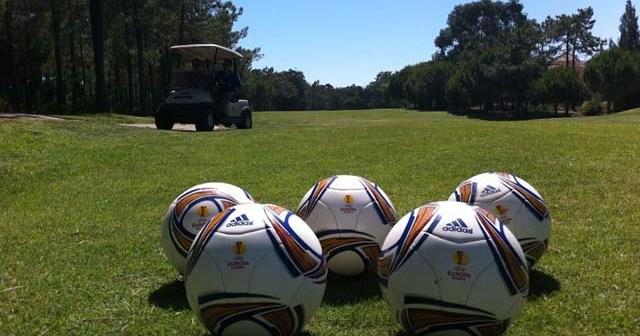 Torneo de footgolf en Islantilla.