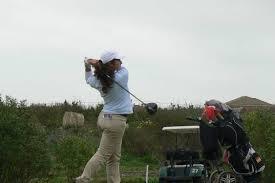 Carolina Ronchel, golfista onubense.
