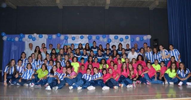 Presentación oficial del Fundación Cajasol Sporting y su cantera.