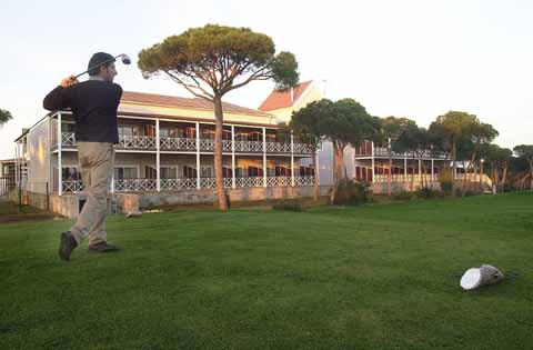 Campo de golf Nuevo Portil.