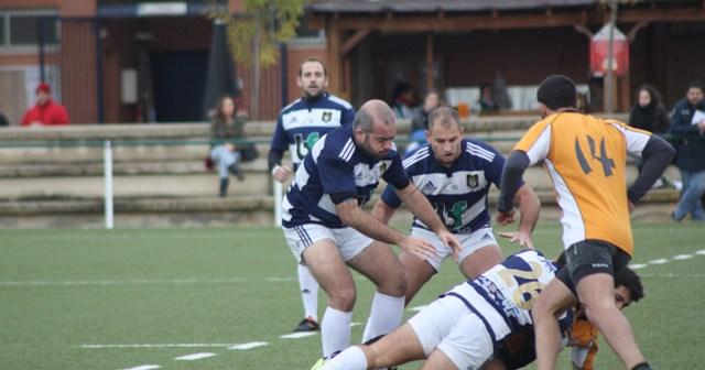 Partido de rugby Cajasol B-Recreativo Bifesa Tartessos.