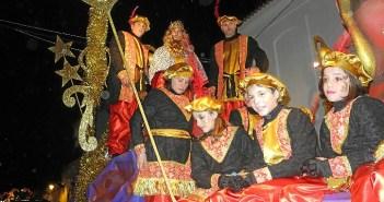 Imagen de archivo de la cabalgata de Reyes de Cartaya.