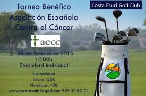 Torneo benéfico de golf en Costa Esuri.