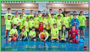 Memorial Federico del Valle de baloncesto en Ayamonte.
