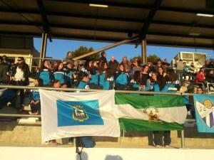 Aficionados del Fundación Cajasol Sporting.
