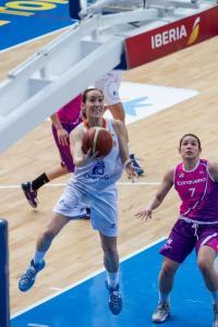Stanacev presionando a Marta Fernández.