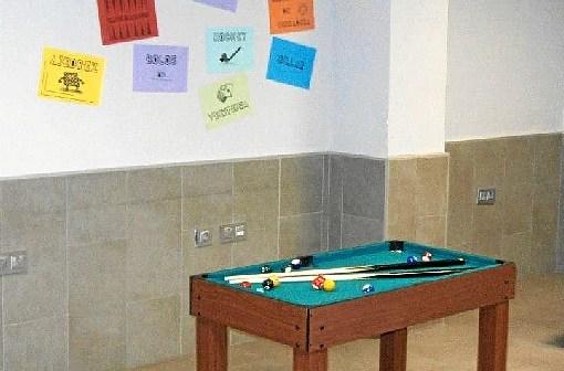 Juventud Instalaciones Mejoras Billar