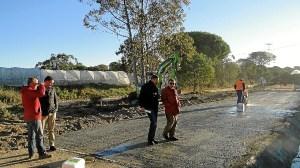 camino rural Moguer