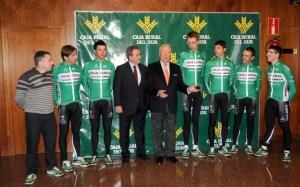 Equipo ciclista Caja Rural-Seguros RGA.