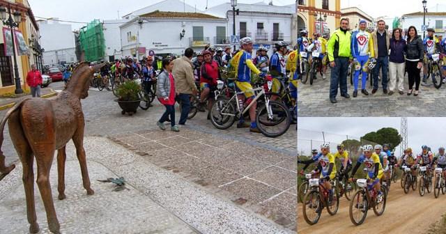 Ruta cicloturista Moguer-El Rocío.