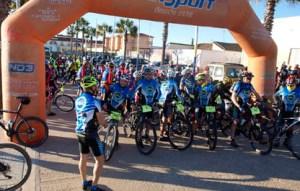 Ruta cicloturista en Aljaraque.