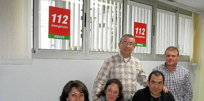 visita 112 Ies Cartaya