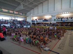 Gimnasia rítmica en Ayamonte.