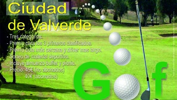 Campeonato de golf en Matalascañas.