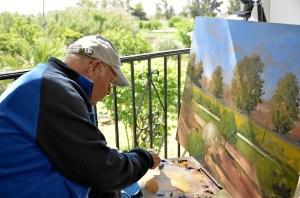 Pintura al aire libre Ayamonte (1)