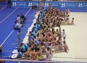 Torneo Internacional de gimnasia rítmica de la Diputación de Huelva.