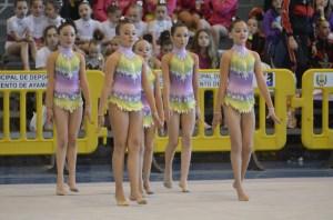 Copa Andalucía de gimnasia rítmica en Ayamonte.