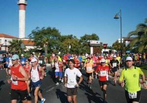 Media maratón en El Rompido.