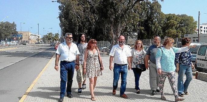 IU en Avda Fco Montenegro