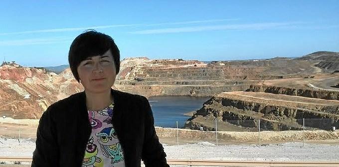 Isabel Lancha, candidata de IU a la Alcaldia de Nerva