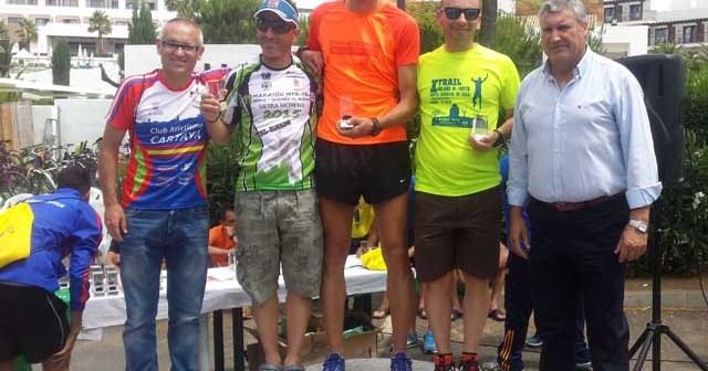 Ganadores de la Media Maraton de Cartaya.