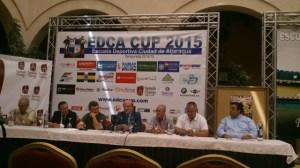 Presentación del Torneo de fútbol 7 EDCA Cup 2015 en Aljaraque.