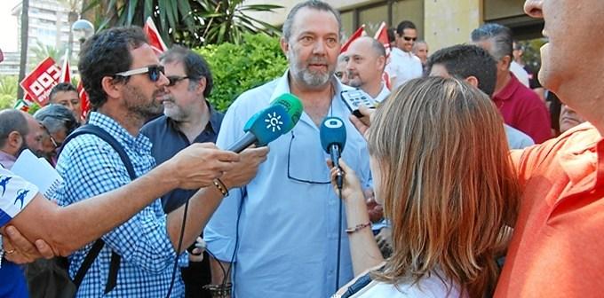 carlos manga protesta puerto huelva declaraciones