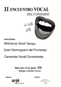 cartel encuentro vocal boca