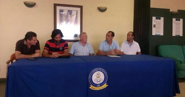 Presentación de la 90 edición de la Copa del Rey de tenis de Huelva.