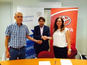 Toyota Huelva, nuevo patrocinador del Fundación Cajasol Sporting.