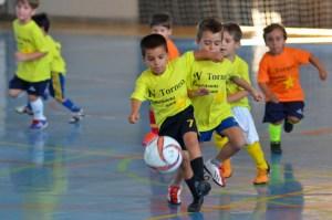 Torneo de fútbol sala 'Se busca una estrella' en Ayamonte. (Rúa)