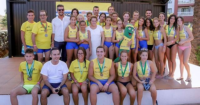 Escuela de atletismo de Isla Cristina.
