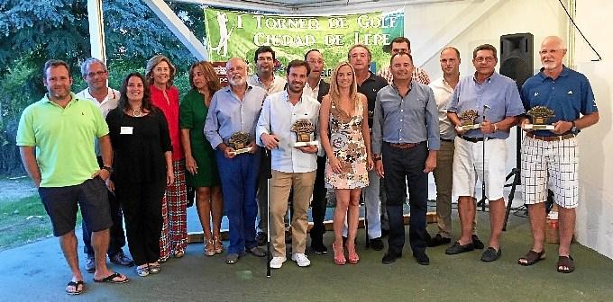 foto ganadores ciudad de lepe golf