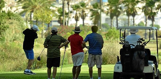 golf isla canela-z4. refugiandose del calor.