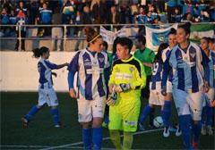 Nazaret, portera del Fundación Cajasol Sporting.