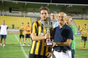 El San Roque de Lepe, ganador de su trofeo ante el Betis B.