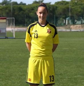 Maria Sampalo, nueva jugadora del Fundación Cajasol Sporting.