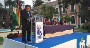 José Antonio Vieira, pregonero del LI Trofeo Colombino de fútbol.