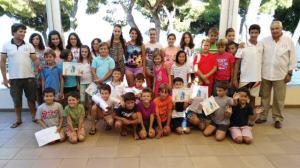 Clausura de los crusos de vela de verano del CD Náutico Punta Umbría.