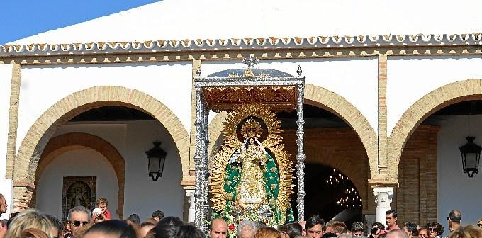 venida de la virgen de montemayor a Moguer 1451[1]