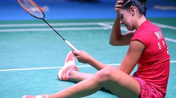 Carolina Marín, eliminada en Japón.