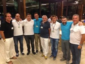 Organizadores de los VI Juegos de Policías y Bomberos en Salou.